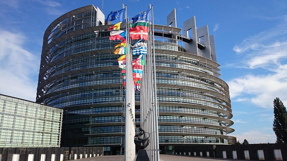 Ts B 4 2 Das Europaeische Parlamentsgebaeude In Strassburg