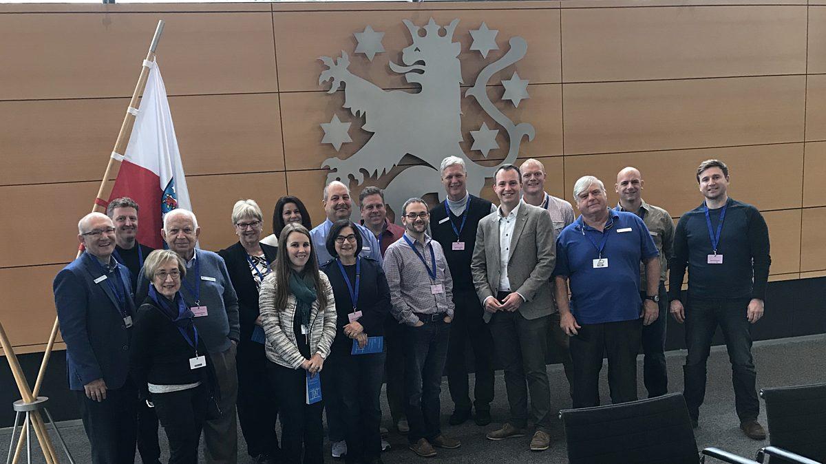 Besuch Delegation Blue Ash Landtag