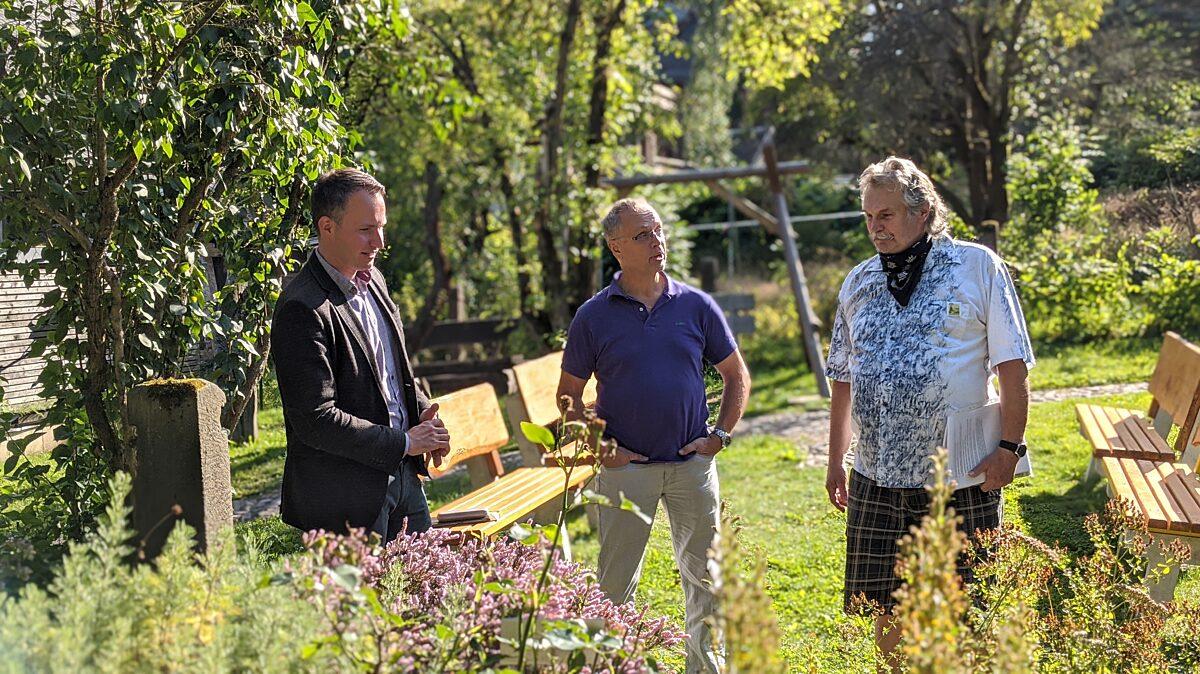 Besuch des Olitaetengartens