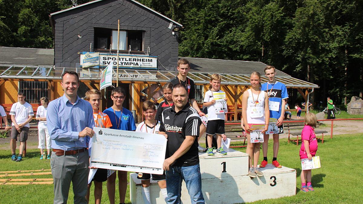 Unterstuetzung des Sportverein Neustadt