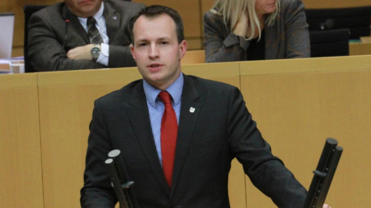 Andreas Bühl im Landtag