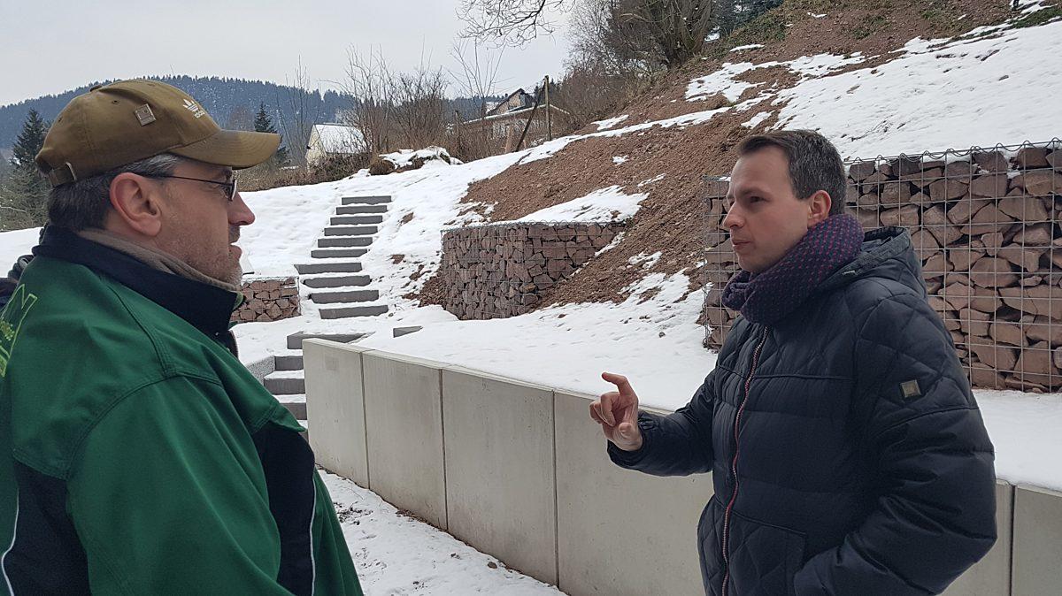 Besuch von Frank Röse