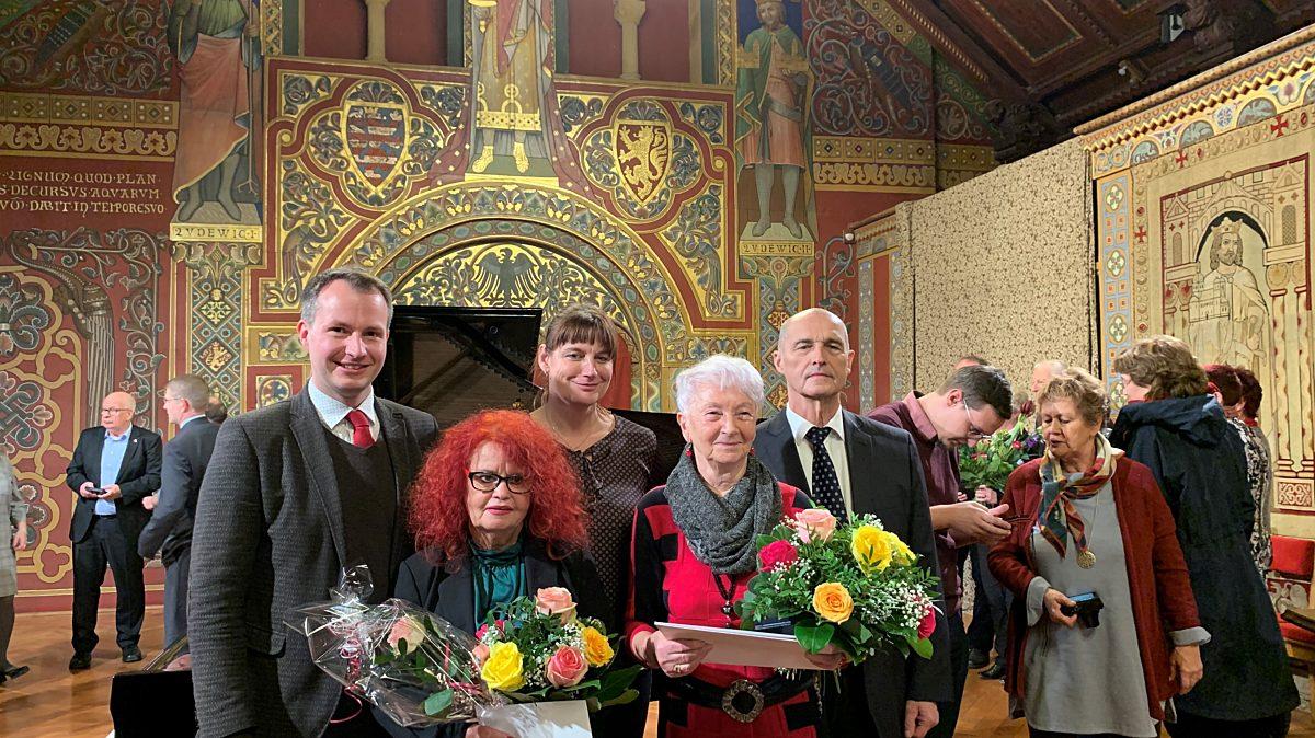 Verleihung der Thüringer Rose