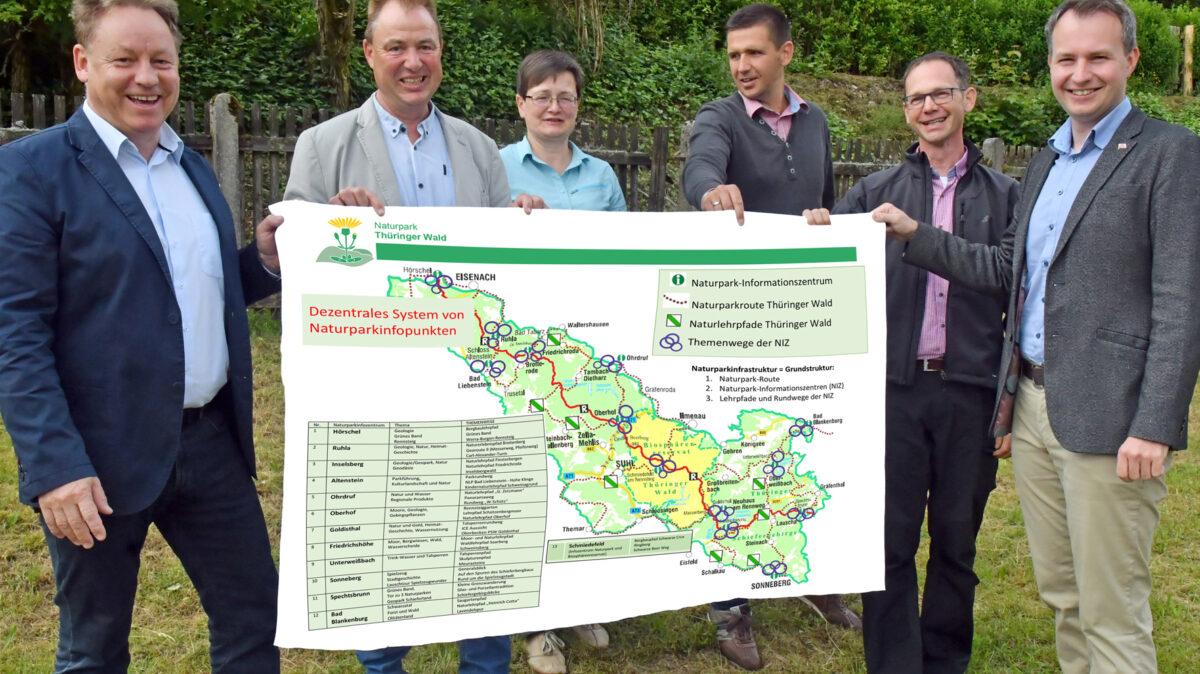 Treffen mit Naturpark Thüringer Wald