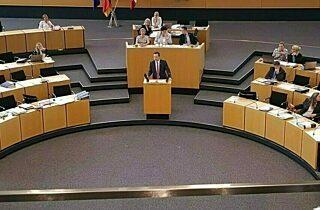 Plenarsaal Thüringer Landtag
