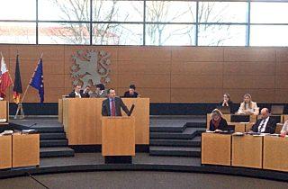 A 71 wird Thema im Landtag