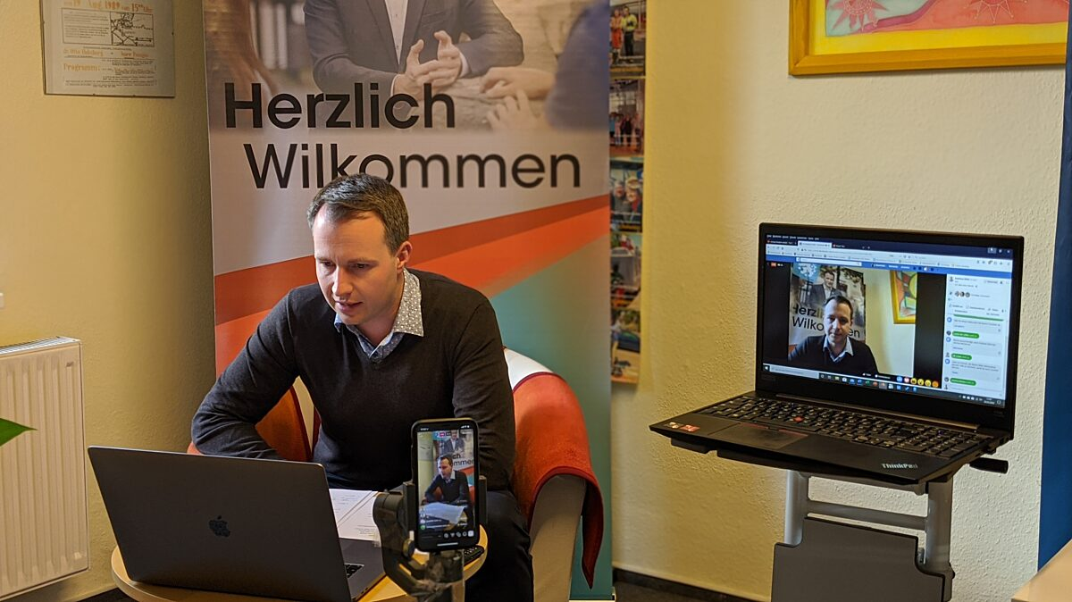 Digitaler Bürgerinformations-Stand