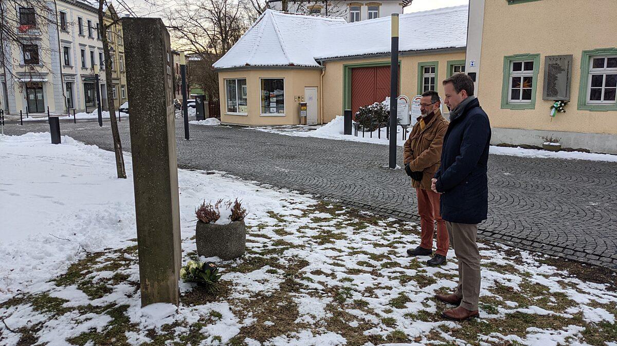 Gedenken an die Opfer der NS-Zeit