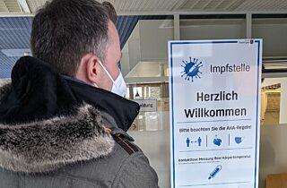 Besuch der Impfstelle Ilmenau
