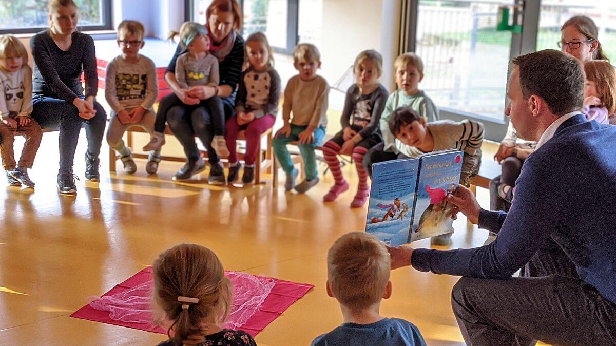 Vorlesen im Kindergarten