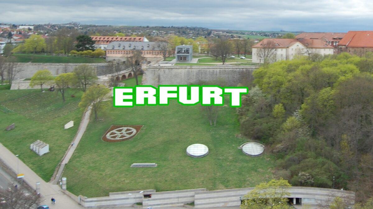 Erfurt Schriftzug