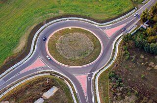 Kreisverkehr, Quelle: Pixabay