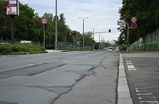 2021 08 31 Nordhaeuser Strasse Schaeden Tempo 40 Verkehr Schild 1