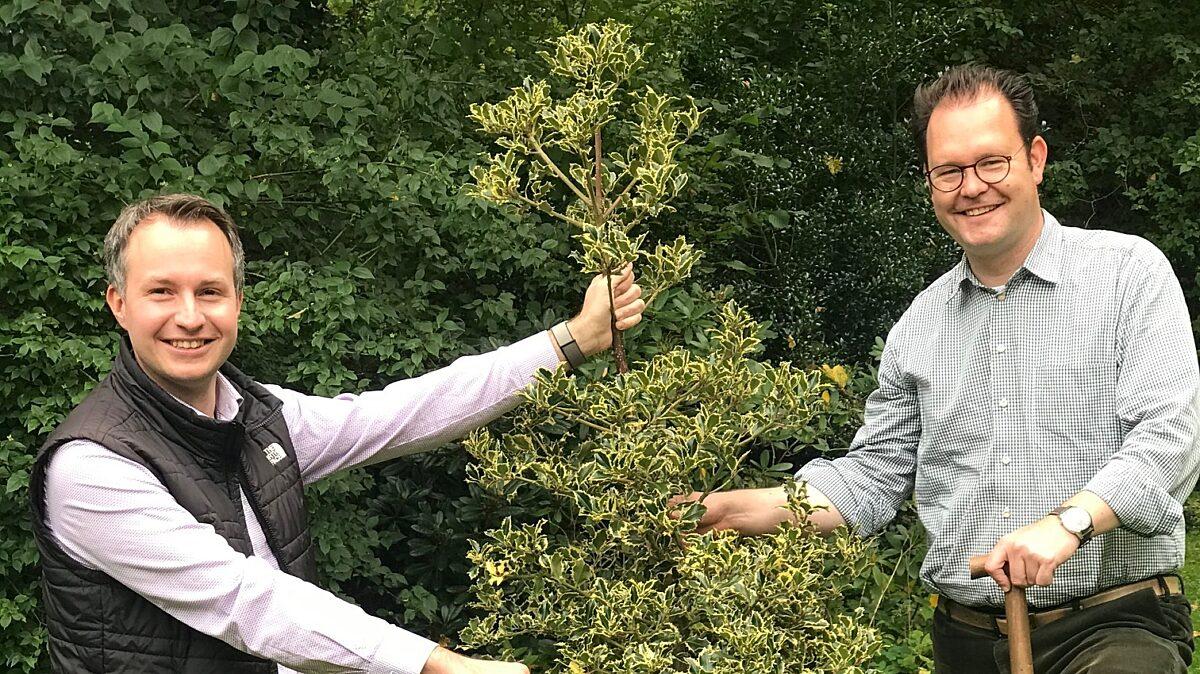 20201004 Ilmkreis Cdu Deutsche Einheit Baum Pflanzung Buehl