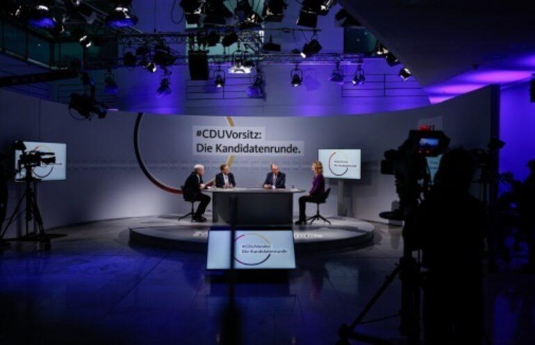 Cdu Kandidaten Laschet Merz Roettgen