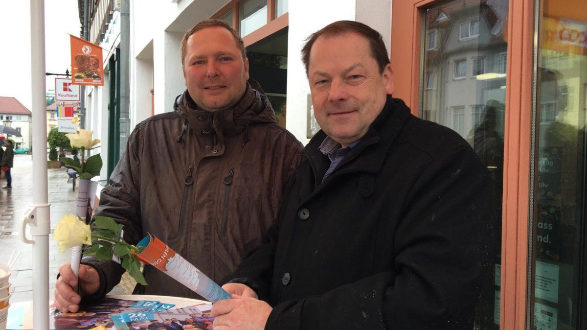 Oliver Gentsch und Volker Stubbe