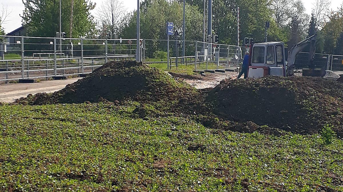 Bauarbeiten Bahnhof