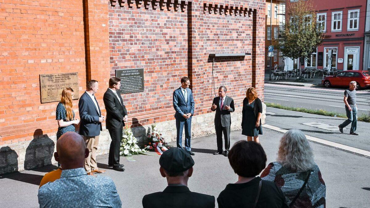 Gedenkveranstaltung 60 Jahre Mauerbau