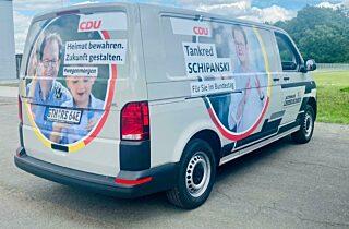 Wahlkampfbus