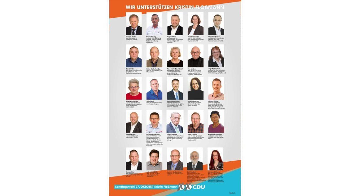Kandidatenzeitschrift Landtagswahl 3