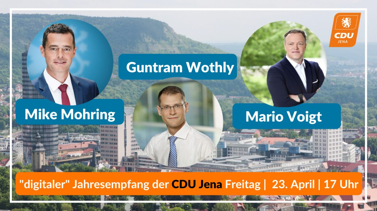 Jahresempfang Der Cdu Jena Freitag 23  April 17Uhr 3