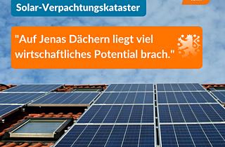 Solarverpachtungskataster Jena