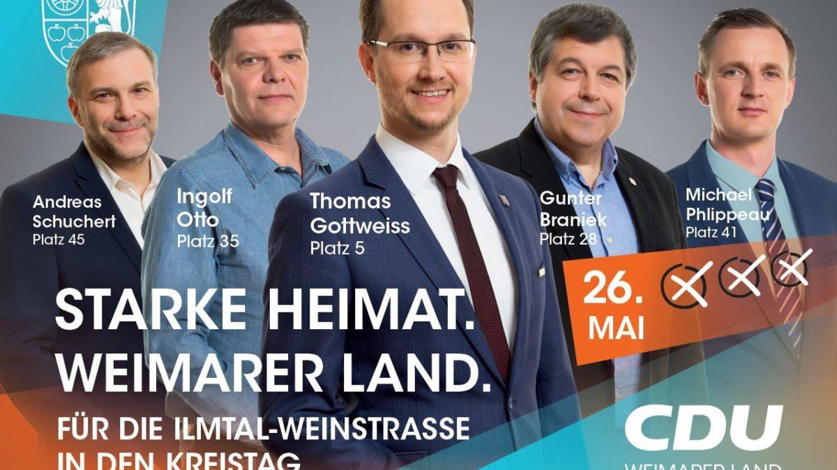 Plakat Ilmtal Weinstr