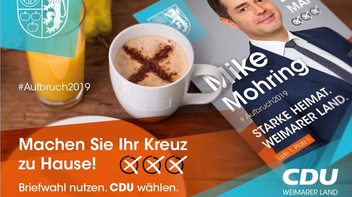 Briefwahlflyer