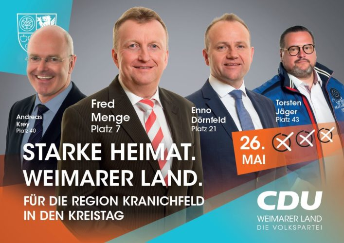 Plakat Kranichfeld