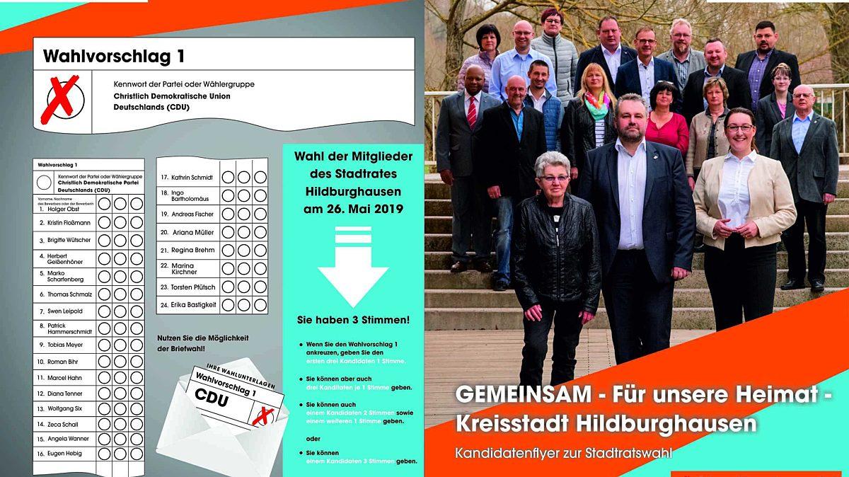 Flyer 2 Stadtratswahl2019