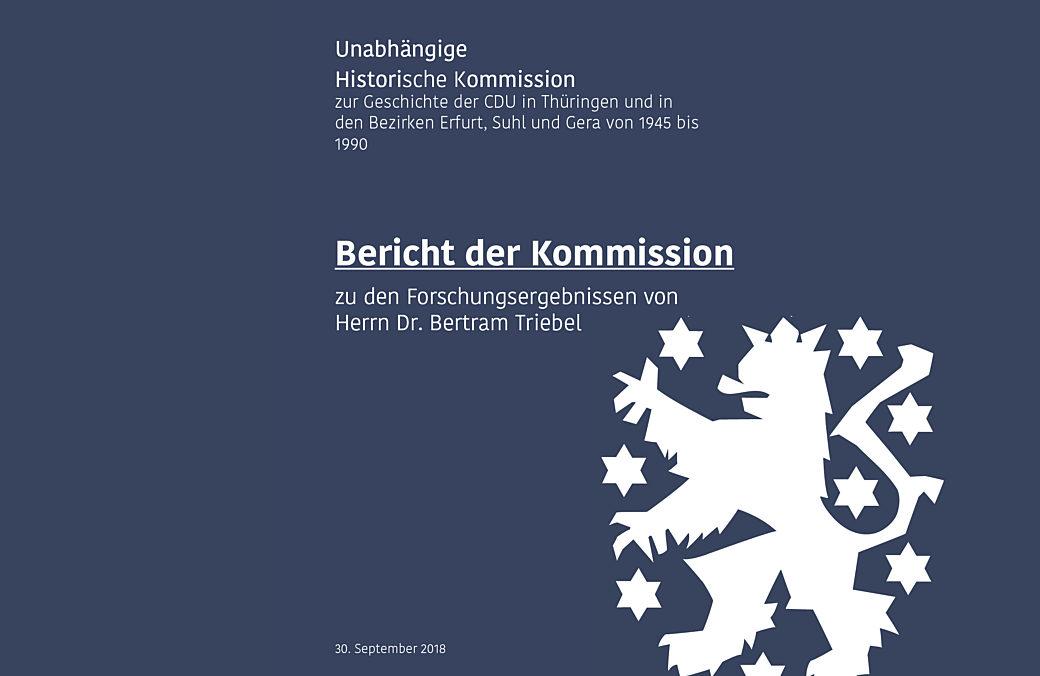 Bericht Der Historischen Kommission