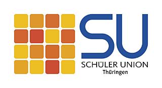 Schueler Union Thueringen Logo Weiss