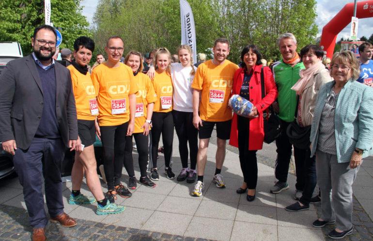 Cdu Team Zum Roeblinglauf In Muehlhausen