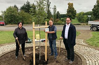 Baumpflanzung Buettstedt 2020