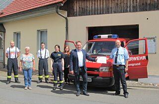 Lm Uebergabe Feuerwehrverein Poppenwind 12 7 2020