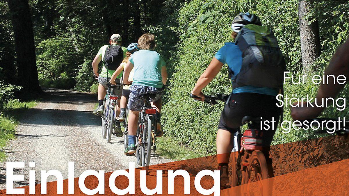 Einladung Radtour: Am So, 28.09. ab 10.30 Uhr am Bahnhofsvorplatz