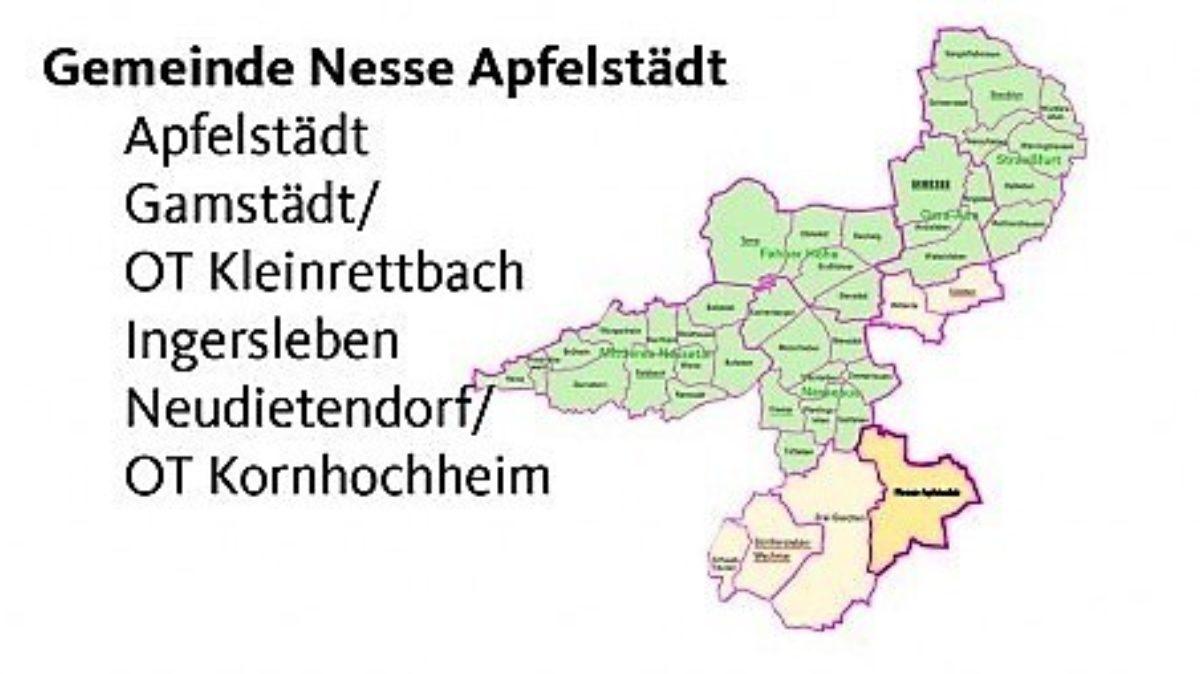 Landgemeinde Nesse Apfelstaedt
