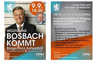 Einladung Bosbach