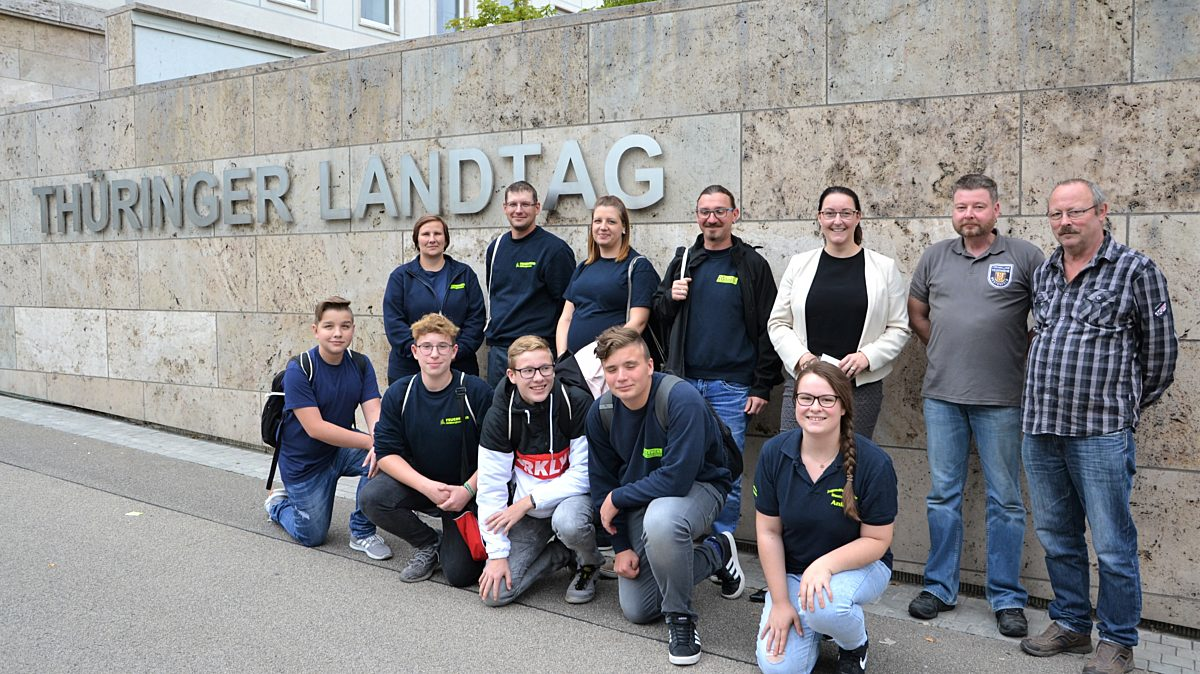 Landtagsbesuch Jfw Hbn Westenfeld