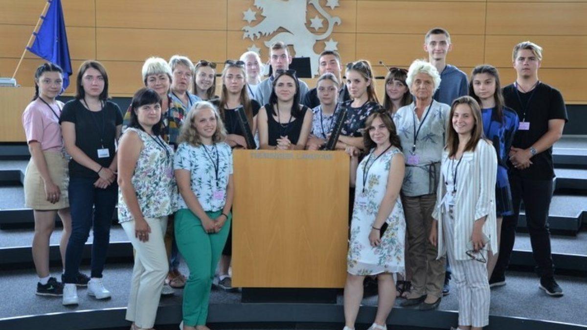 Besuch Th  Landtag 1