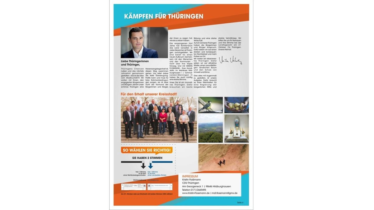 Kandidatenzeitschrift Landtagswahl 4