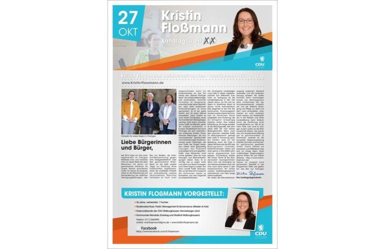Kandidatenzeitschrift Landtagswahl 1