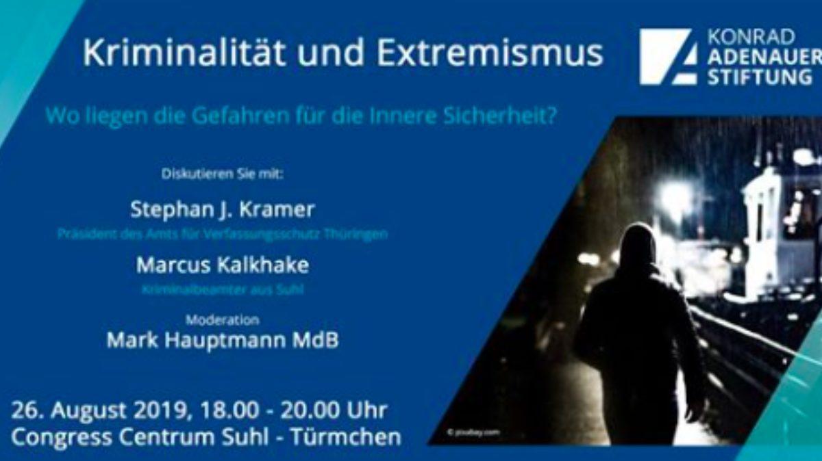 Kriminalität und Extremismus