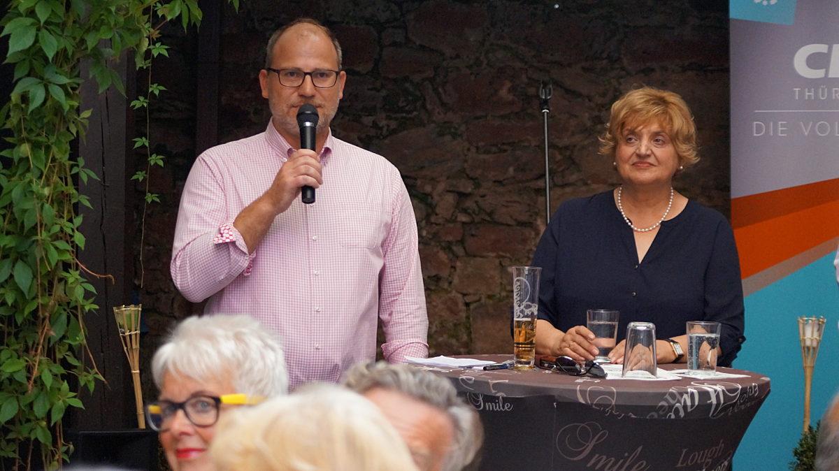 Birgit Diezel und Marcus Kalkhake