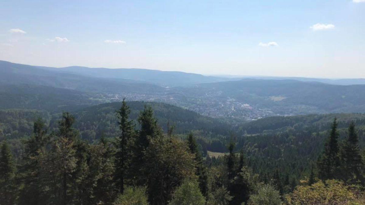 Blick vom Ruppberg
