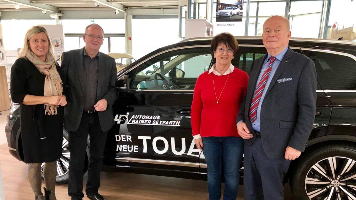 Zu Besuch im Autohaus Rainer Seyfarth