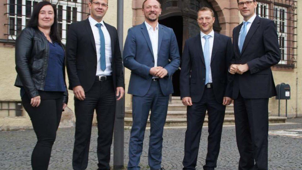 Von links: Daniela Tischendorf, Martin Henkel, Staatssekretär Marco Wanderwitz, Martin Müller, Christian Hirte.