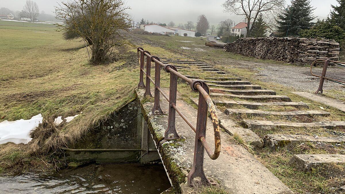 Alte Feldabahntrasse bei Diedorf