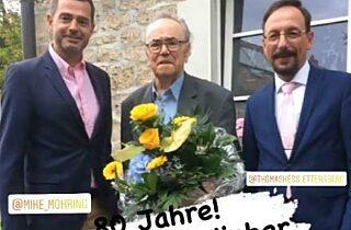 80  Geburtstag Bernd Schroeder