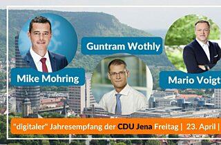 Jahresempfang Der Cdu Jena Freitag 23  April